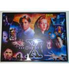 THE X FILES Pinball Machine Game Translite Backbox Artwork #W16 for sale