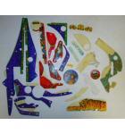 THEATRE OF MAGIC Pinball Machine Game Incomplete Plastic Set #232 for sale