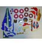 THEATRE OF MAGIC Pinball Machine Game Incomplete Plastic Set #233 for sale
