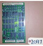 TIME CRISIS II Arcade Machine Game PCB Printed Circuit RAM Board #2097 for sale