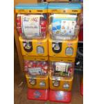 TOMY GACHA CAPSULE MACHINE System-4 HEAD VEND UNIT-NO ELECTRICITY REQ'D-LOT OF 2