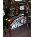 TRANSFORMERS LE AUTOBOT CRIMSON Pinball Machine Game for sale by STERN - FLOOR MODEL - LED