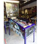 TRANSFORMERS LE DECEPTICON VIOLET Pinball Machine Game for sale by STERN - FLOOR MODEL - LED
