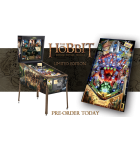 The Hobbit Standard Edition Pinball Game Machine for sale by Jersey Jack Pinball