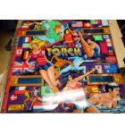 TORCH Pinball Machine Game Backglass Backbox Artwork
