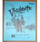 VIGILANTE Arcade Machine Game INSTALLATION & SERVICE MANUAL #893 for sale
