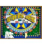 WHEEL DEAL Redemption Arcade Machine Game VINYL HEADER for sale #W27