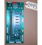 WHEEL'M IN Arcade Machine Game PCB Printed Circuit I/O Board #2043 for sale
