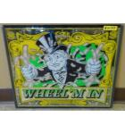 WHEEL'M IN Redemption Arcade Machine Game Artwork Graphic MIRRORED BACKGLASS for sale #W77 by BROMLEY