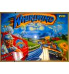 WHIRLWIND Pinball Machine Game Translite Backbox Artwork for sale - #W24