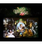 WIZARD OF OZ Pinball Machine Game Backglass Backbox Artwork