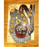 WOZ Wizard of OZ CASTLE Pinball Machine Game Playfield Mini Playfield