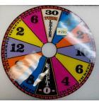 Wheel of Fortune Ticket Redemption Arcade Machine Game Score Wheel Plastic #880
