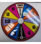 Wheel of Fortune Ticket Redemption Arcade Machine Game Score Wheel Plastic #881