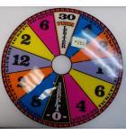 Wheel of Fortune Ticket Redemption Arcade Machine Game Score Wheel Plastic #882