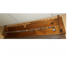Vintage Large Wooden Abacus style scoring unit scorekeeper for Shuffleboard Foosball for sale