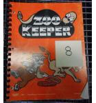 ZOOKEEPER Video Arcade Machine Game Manual for sale by TAITO #8