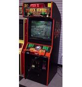 "BIG BUCK HUNTER II 2006 CALL OF THE WILD 25"" Upright Video Arcade Machine Game for sale  - SHOOT DEER"