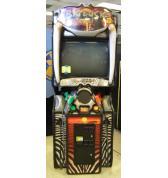 BIG BUCK HUNTER SAFARI Upright Video Arcade Machine Game by RAW THRILLS - ACTION PACKED DEER HUNTING