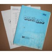 COSMO GANG Arcade Machine Game PRELIMINARY MANUAL & MORE #1106 for sale