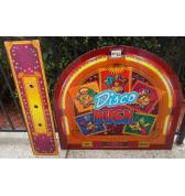 DISCO DUCK Redemption Arcade Machine Game Overhead Header/Marquee & Control Panel for sale by PRIMETIME AMUSEMENTS