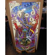 ELVIS Pinball Machine Game Playfield