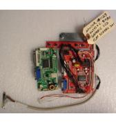 """GENERIC LCD Flat Screen Arcade Machine Game PCB Printed Circuit MONITOR CONTROL Board #1123 - """"AS IS"""" from Working Machine"""
