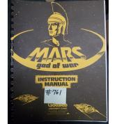 MARS GOD OF WAR Pinball Machine Game Instruction Manual #761 for sale - GOTTLIEB