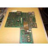 "Ms. Pac-man Arcade Machine Game PCB Printed Circuit Board Set #279 - Namco - ""AS IS"""
