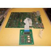 "Ms. Pac-man Arcade Machine Game PCB Printed Circuit Board Set #280 - Namco - ""AS IS"""
