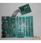 PAC-MAN PACMAN Arcade Machine Game PCB Printed Circuit Board #1675 for sale