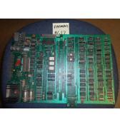 Pac-man Original Video Arcade Machine Game PCB Printed Circuit Board #617 rebuilt by Eldorado Games for sale