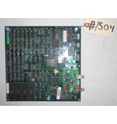 SEGA SUPER GT Arcade Machine Game PCB Printed Circuit DIGITAL SOUND Board #1504 for sale