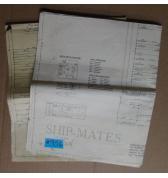 SHIP-MATES Pinball Machine Game SCHEMATIC & RARE MIRROR IMAGE SCHEMATIC #956 for sale