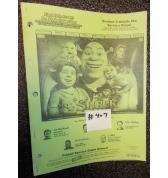SHREK Pinball Machine Game Owner's Manual #407 for sale