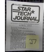 STAR TECH JOURNAL VOLUME 5 NUMBER 2 APRIL 1983 Technical Monthly Publication #27