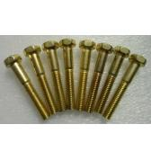 STERN Pinball Machine Game Parts BRASS FINISH LEG BOLTS for sale #231-5001-02