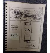 UP 'N DOWN Video Arcade Machine Game Parts and Operational Manual #493 for sale - BALLY/MIDWAY