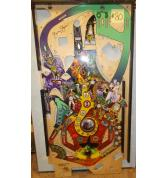 WIZARD OF OZ Pinball Machine Game Playfield #80 signed by Jersey Jack - Production Defect