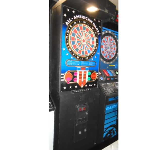 ALL AMERICAN DARTS Upright Arcade Machine Game for sale by IDEA