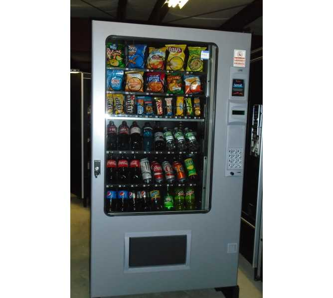 AMS Automated Merchandising Systems 39-VCB Sensit (Visi Combo 44) Cold Drink, Snack, Fresh Vending Combo Vending Machine for sale