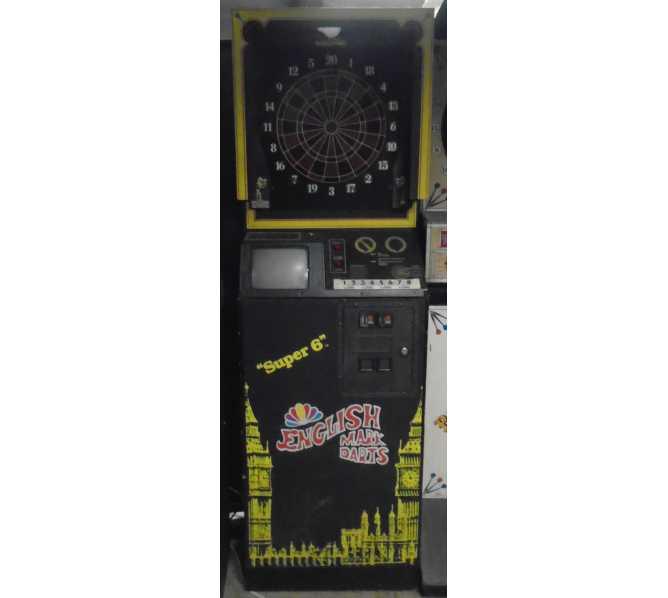 "ARACHNID ""SUPER 6"" ENGLISH MARK DARTS Electronic Dartboard Arcade Machine Game for sale"