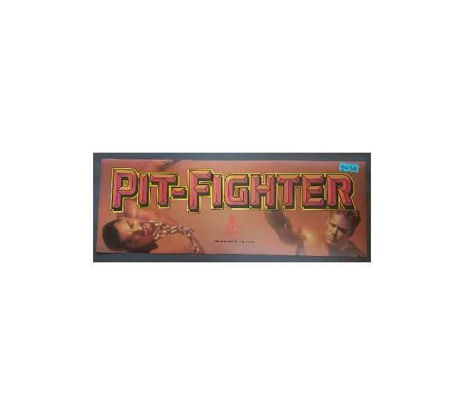 ATARI PIT-FIGHTER Arcade Game Machine FLEXIBLE HEADER #5458 for sale
