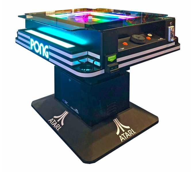 ATARI PONG COIN-OPERATED / FREE PLAY COCKTAIL TABLE Arcade Machine Game for sale by UNIS