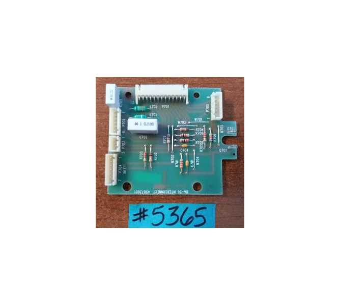 Arcade Machine Game PCB Printed Circuit PCB Interconnect Board Assembly Part # H45073001 (5365) for sale