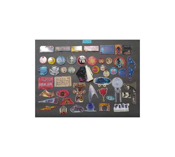 Authentic Stern Pinball Promotional Key Fob Keychain Plastics Lot of 48
