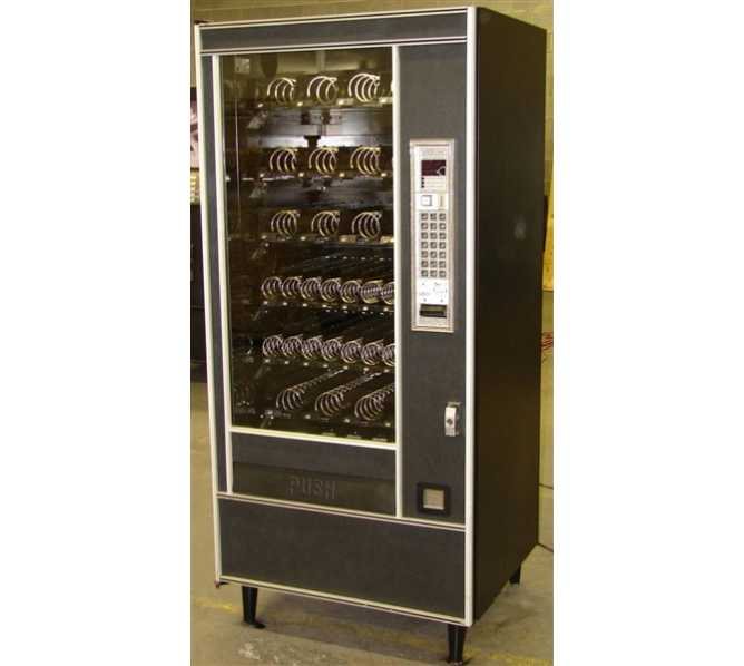 Automated Products AP API Series 6000 Model 6600XL Snack Glass Front Vending Machine Candy machine Candy vendor Snack machine Snack vendor Refrigerated snack machine Refrigerated snack vendor