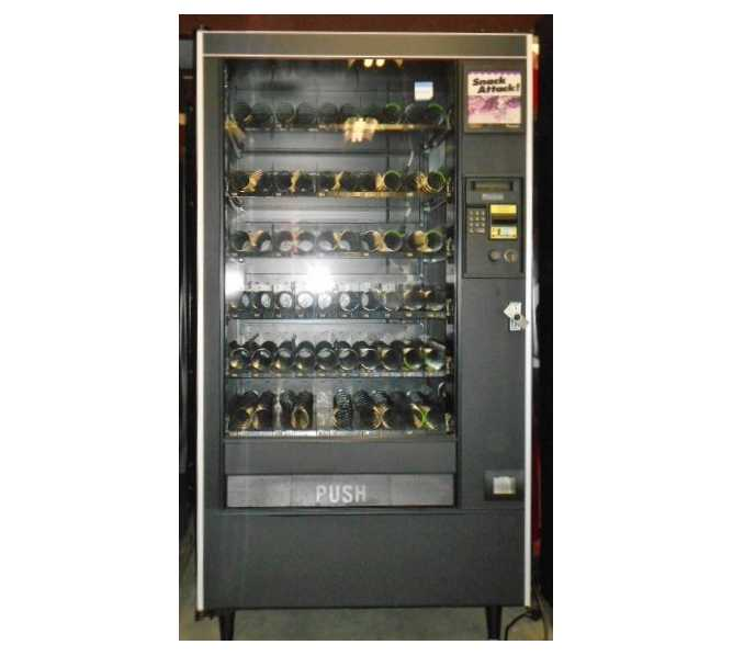 Automated Products API AP Model 123 Snackshop Glass Front Vending Machine for sale