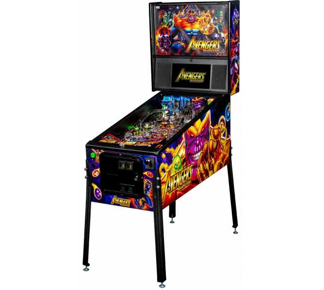 STERN AVENGERS INFINITY QUEST PREMIUM Pinball Game Machine for sale