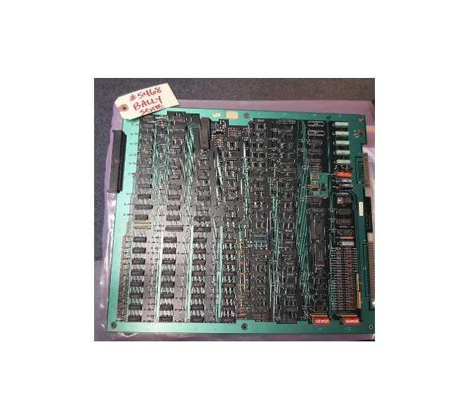 BALLY SENTE Arcade Machine Game PCB Printed Circuit MAIN Board #5468